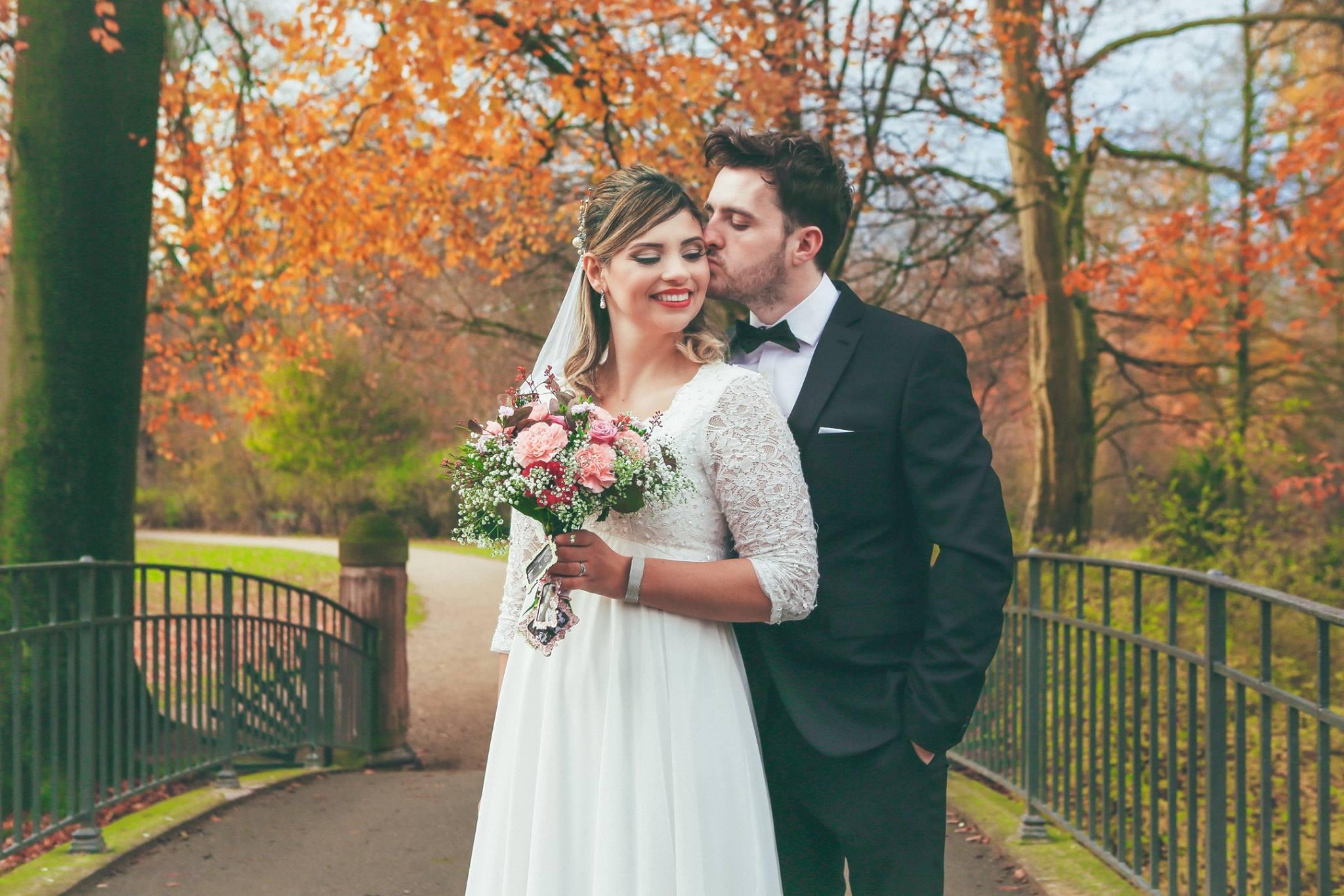 Copenhagen wedding at Frederiksberg garden