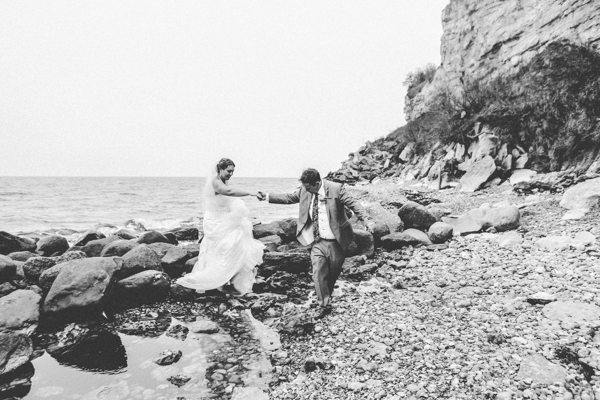 Stevns Klint Wedding Church Beach Copenhagen Denmark